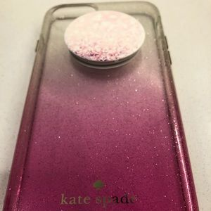 Kate Spade iPhone 7 Case with Pop-Socket